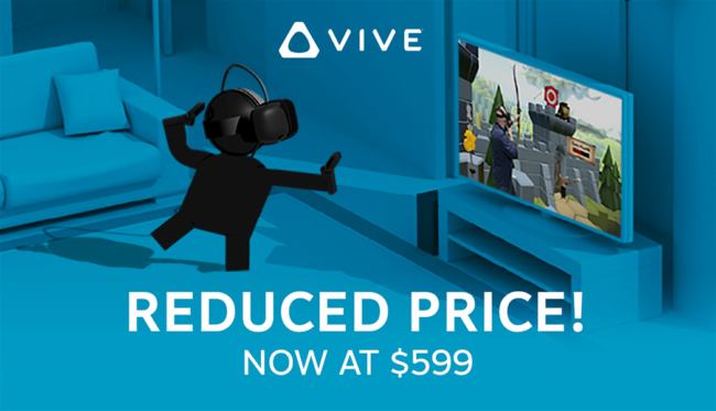 HTC Viveの値下げ