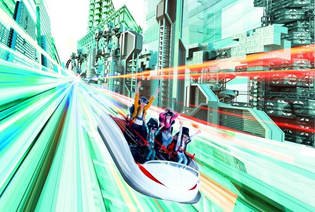 世界最高・最長・最速VRジェットコースター「VR-KING」が登場