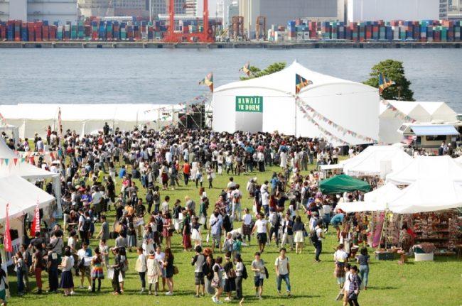 ハワイ州観光局が日本初の屋外VRドームを旅祭で設置