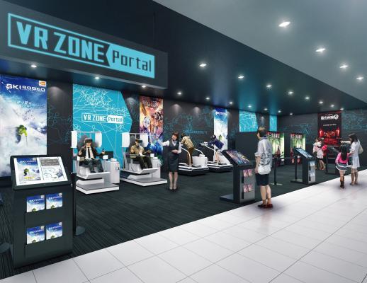 『VR ZONE Portal』神戸に国内1号店、ロンドンに海外1号店をオープン