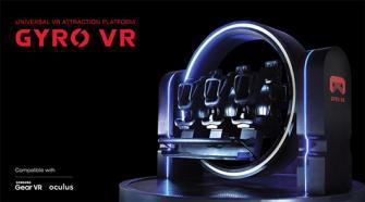 360度回転するVRデバイス「GYRO VR」を東京ゲームショウで日本初公開