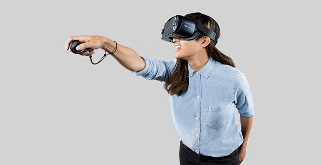 Gear VRのリモコン