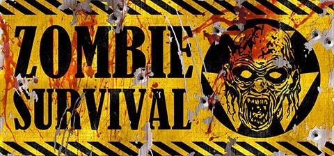 「ZOMBIE SURVIVAL」ロゴ