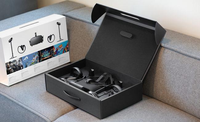 Oculus RiftとTouchのセット