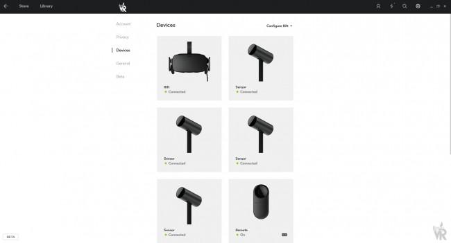 Oculus Riftの対応センサーが4台になったことのtweetに添付された画像