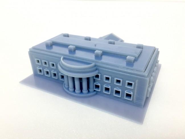 ホワイトハウスの模型