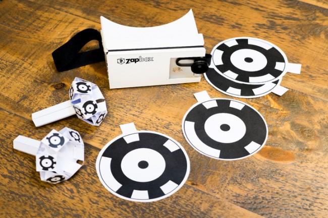 ZapBoxの専用コントローラーとポイント・コード