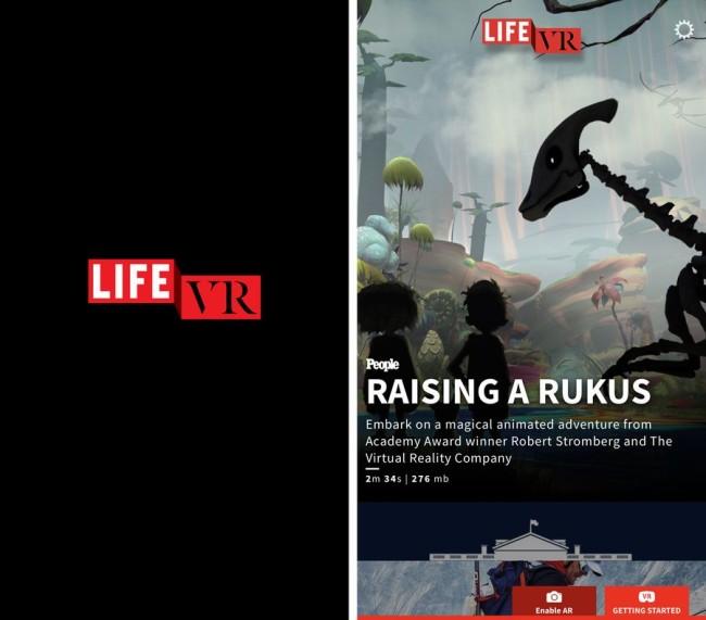 VR イマーシブ・ジャーナリズム LIFE VR