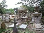 ジョージタウンの墓地