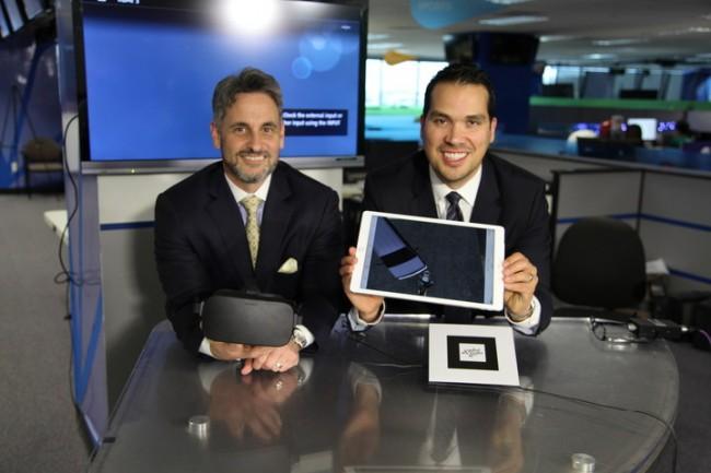 VRを利用する二人の弁護士