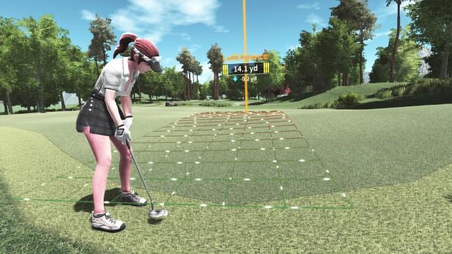 VRゲーム、VR Golf Online、イメージ