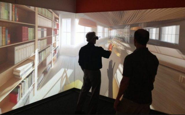 VRで再現された室内