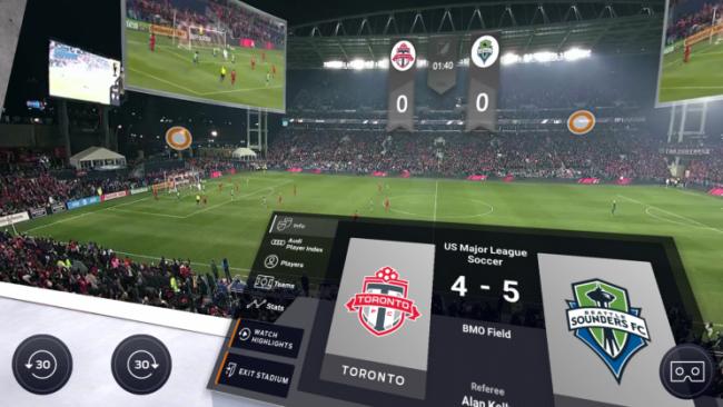 VRの活用で変わるサッカー中継の新しい形