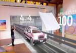 ARで走行中の自動車を表示