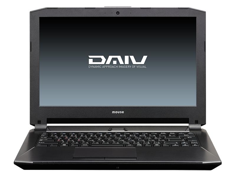 持ち運びに最適な14型ノートパソコン「DAIV-NG4500」シリーズが本日より販売開始