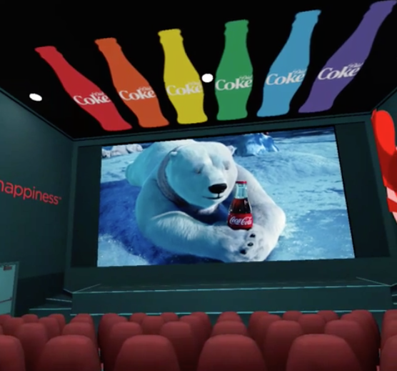コカ・コーラデザインの劇場