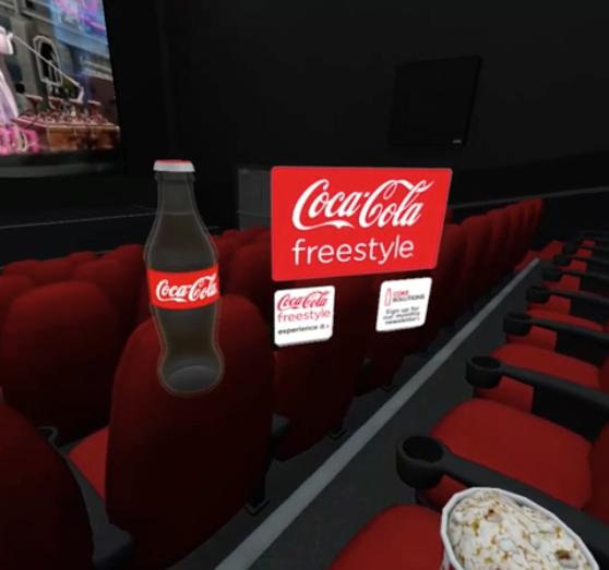 コカ・コーラのVR広告