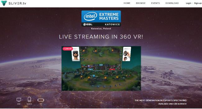 VR e-sports silver.tv