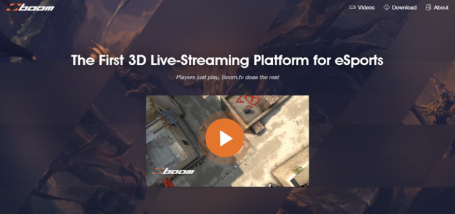 VR e-sports boom.tv