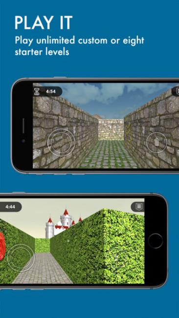 二種類の迷路デザイン