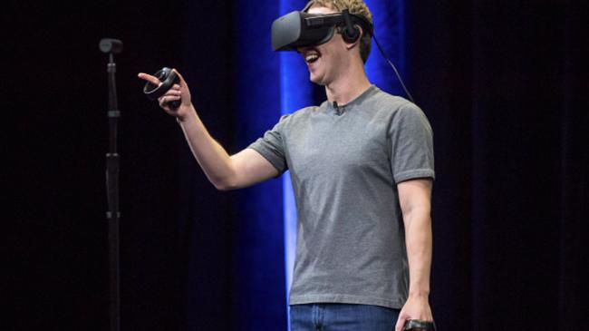 OculusのVRシステム