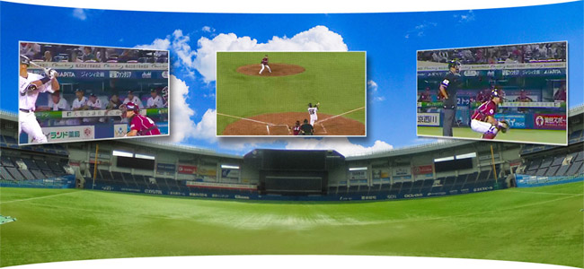 見逃せない!4K・360度VRライブで「千葉ロッテ VS 巨人戦を」3月18日に配信