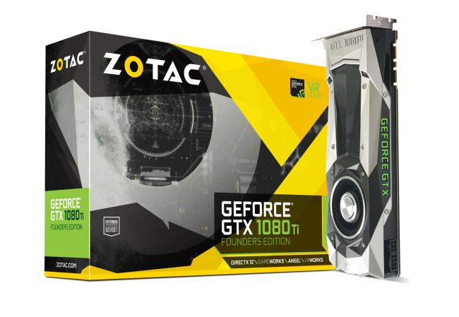 ASK、グラフィックスボード「ZOTAC GeForce GTX 1080 Ti Founders Edition」の取り扱いを発表