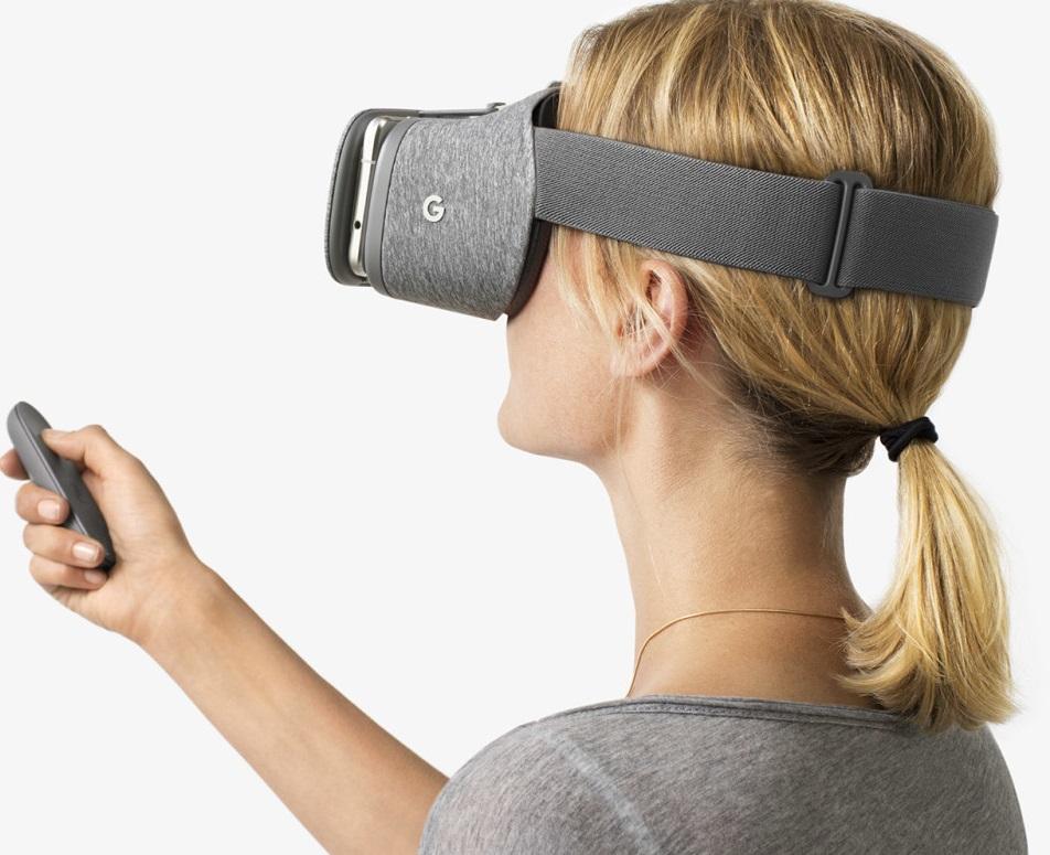 VRHMD,Google daydream view,イメージ