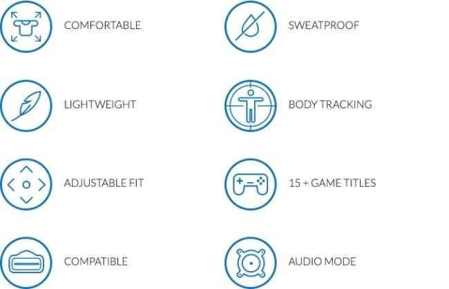 Hardlight VRの特徴
