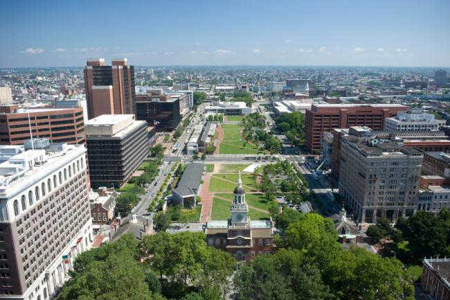 フィラデルフィア独立国家歴史公園