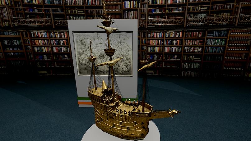 The-British-Museum-Galleon-ship