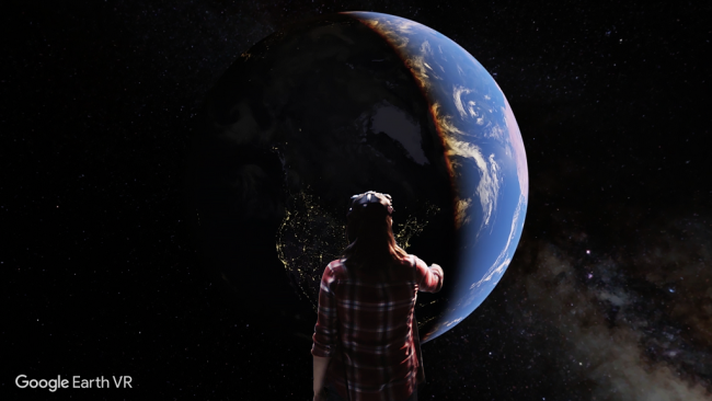 VRで地球のどこへでも