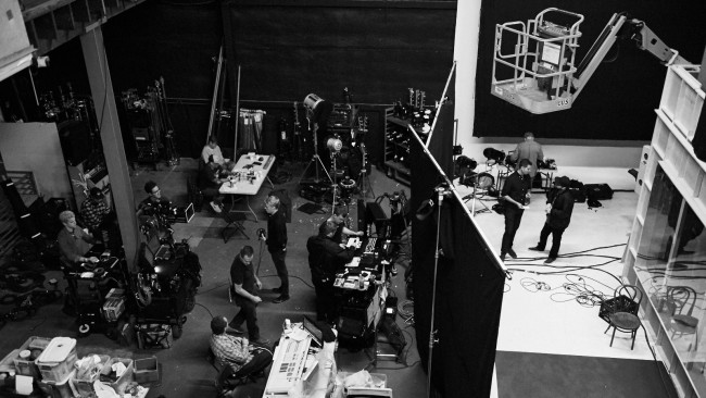 New York Timesが制作した中編サスペンス360°映画「Great Performers L.A. Noir」の制作現場
