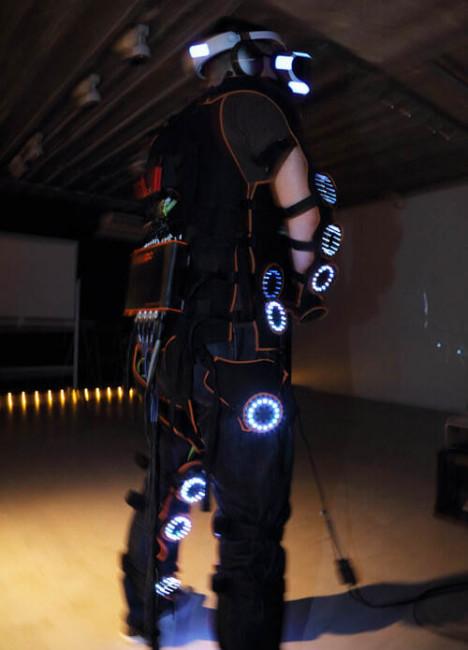 『Rez Infinite』シナスタジア・スーツ2.0体験画像