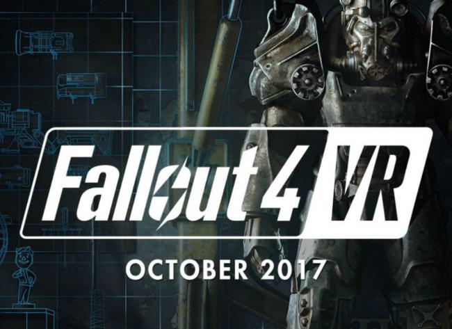 ベセスダ、「Fallout 4 VR」をVIVE対応で2017年10月、「DOOM:VFR」をVIVE・PSVR対応で年内にリリース!