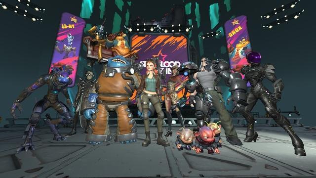 『Starblood Arena』画面イメージ