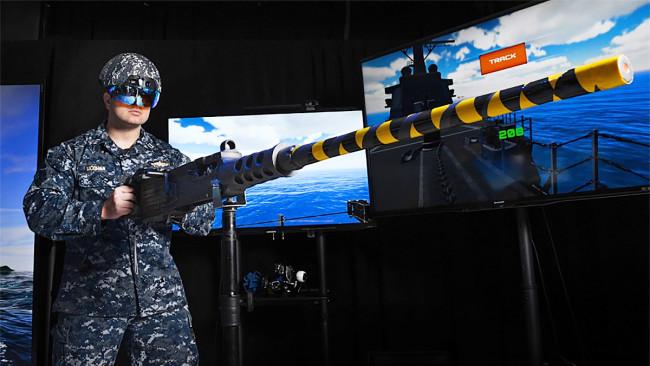 艦砲射撃を支援するARシステム「GunnAR」を使った演習動画が公開される
