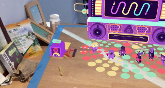 PSVRタイトルから移植されたパズルゲーム「GNOP」などUnityで開発されたARKitが続々リリース