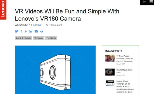 VR VR180 180°動画