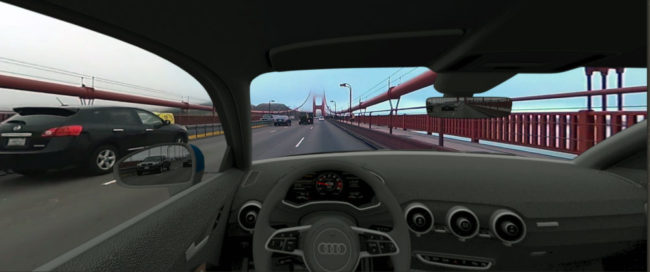 運転のシミュレーション