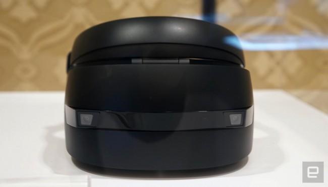 HPのWindows Holographicヘッドセット