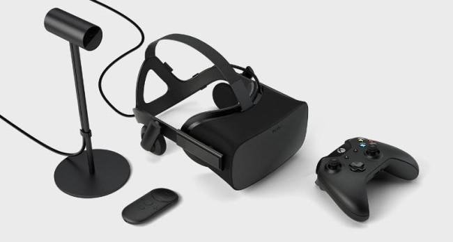 Oculus Riftと周辺機器
