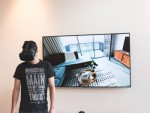 VRで建設中の建物を内覧する