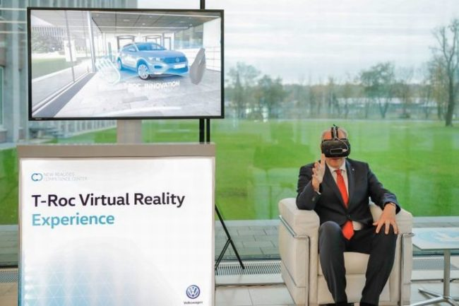 T-Roc Virtual Reality Experienceの画像