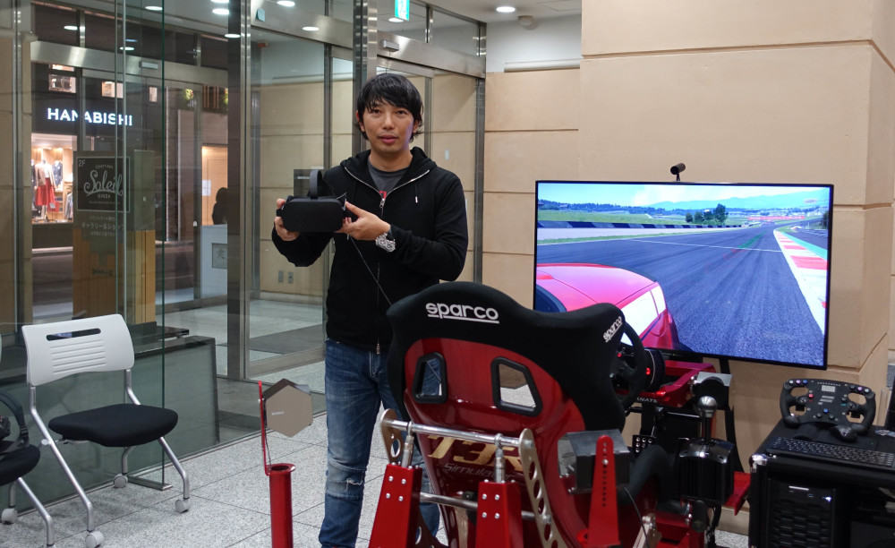 【VRI Meetup Tokyo #2】「T3R レーシングシミュレーター」の体験と開発者の古賀 琢麻氏に取材