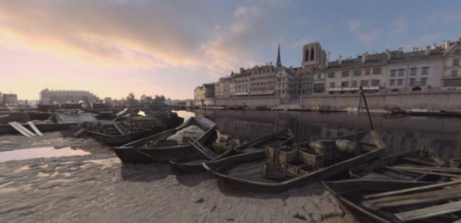 1628年のセーヌ川