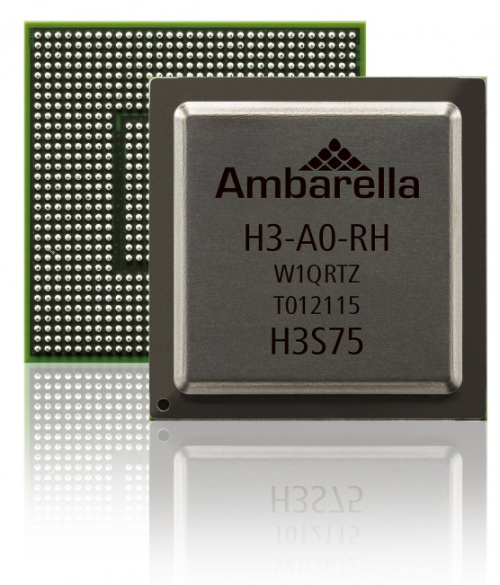 Ambarella H3 SoC