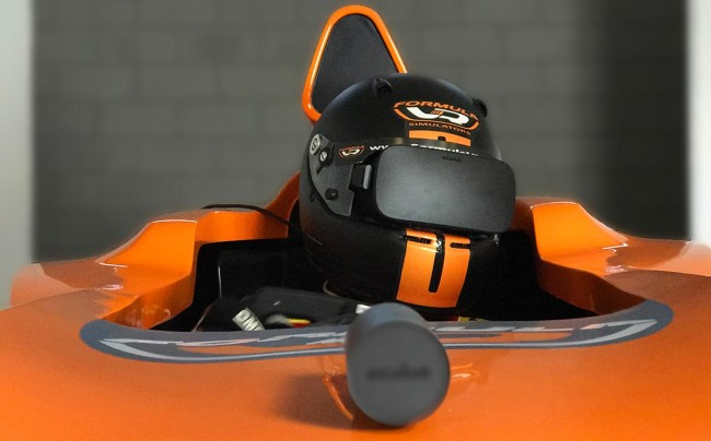 HelmetVRを使っている様子