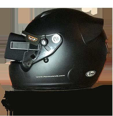 ヘルメットのサイド