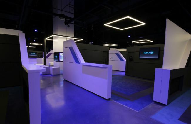 IMAXのVRセンター内部